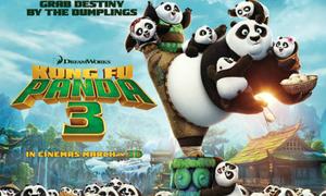 4 bạn nhận vé xem ra mắt phim 'Kungfu Panda 3'