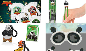 Quà tặng hấp dẫn từ phim Kungfu Panda 3