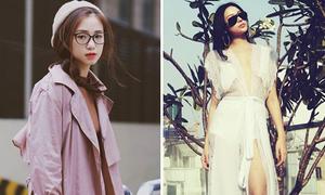 Sao style 17/3: Sa Lim như búp bê, Huyền Baby diện đầm ren mỏng tang