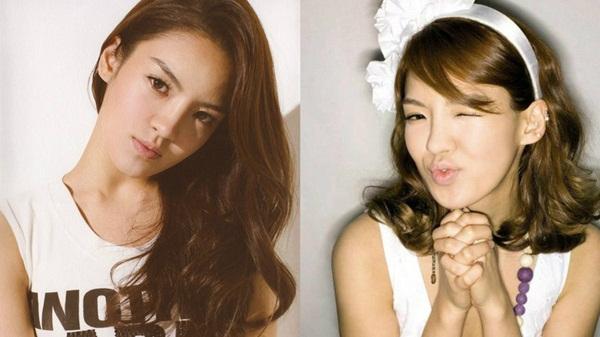 Hyo Yeon thay đổi cách trang điểm, riêng thay đổi kiểu lông mày cũng đủ khiến diện   mạo khác hẳn.