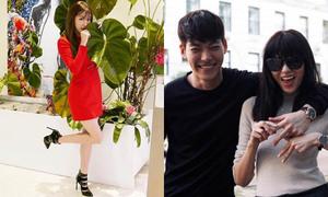 Sao Hàn 23/3: Tiffany duyên dáng khoe giày mới, Kim Woo Bin đẹp đôi bên siêu mẫu
