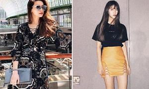 Sao style 23/3: Hà Hồ diện maxi sang chảnh, Quỳnh Anh Shyn khoe chân tinh tế