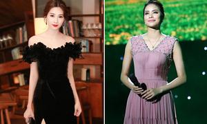 Sao style 6/4: Thu Thảo như thiên nga đen, Phạm Hương hồng công chúa