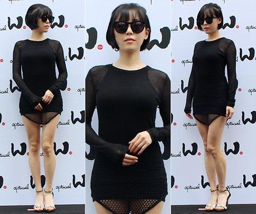 Dàn mỹ nhân Hàn dính phốt mặc quần như không 9