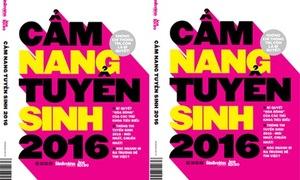 Danh sách 10 bạn nhận cuốn 'Cẩm nang tuyển sinh 2016'