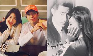 Sao Hàn 22/4: Tiffany 'cuồng' Jo In Sung, Yong Hwa hội ngộ em gái xinh đẹp