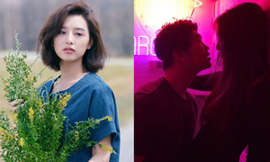 Sao Hàn 27/4: Sulli âu yếm bạn trai, Kim Ji Won khoe vẻ đẹp gây xao xuyến