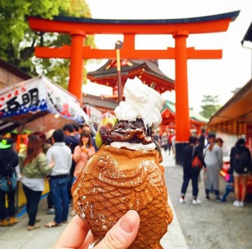Kem cá Nhật Bản.