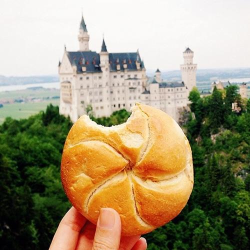 Bánh mì Đức.