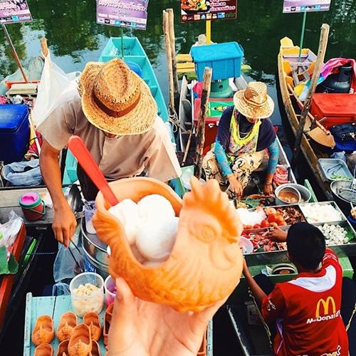 Kem dừa đặc trưng ở Thái Lan