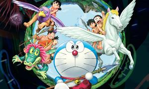 Doraemon, Nobita trở về nước Nhật thời nguyên thủy