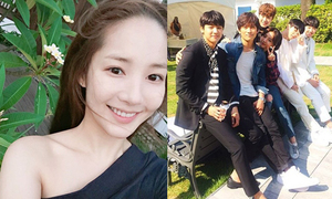 Sao Hàn 20/5: Park Min Young xinh tươi ở Đà Nẵng, Hyeri thân mật Ji Sung