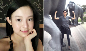 Sao Việt 25/5: Hà Tăng khỏe như voi, Huyền Baby lạ lẫm khi xóa 'mặt nạ makeup'
