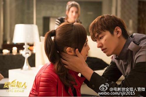 Hậu trường được công bố với hình ảnh Lee Min Ho trên mặt in hằn vết thương. Anh nhìn người phụ nữ mình yêu thương bằng đôi mắt da diết. Dường như anh đang muốn hôn cô gái ấy. Nữ diễn viên đóng cặp cùng Lee Min Ho chính là Đường Yên xinh đẹp của màn ảnh Hoa ngữ.