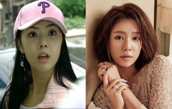 Hwang Jung Eum mềm mại và nữ tính hơn khi kẻ mày ngang.