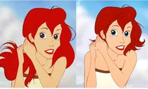 Công chúa Disney kẻ xấu, người xinh khi cắt tóc