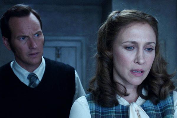 Patrick Wilson (trái) và Vera Farmiga (phải) hóa thân thành Ed và Lorraine