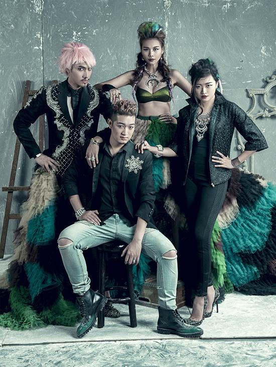 Creative Director: Hà Đỗ  Photo: Trí Nghĩa  Make up & Hair: Tùng Châu, Thủy Vũ, Đức Trần  Stylist: Fifi Hoàng, Hà Nguyễn