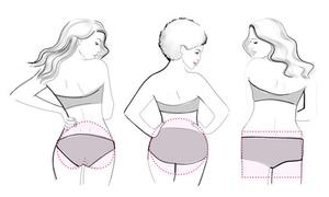 Phân biệt 5 dáng mông phổ biến của phái nữ khắp thế giới