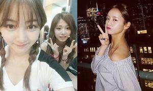 Sao Hàn 26/6: Tzuyu mặt ngơ ngác kute, Hyeri lộ lỗi makeup mặt trắng cổ đen