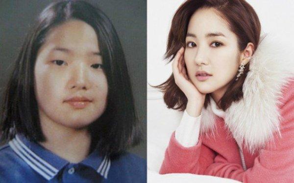 Nhan sắc xuất chúng là một trong những chìa khóa thành công của Park Min Young trong sự nghiệp diễn xuất. Vẻ đẹp hồn nhiên, trong sáng đã giúp cô mang về loạt vai diễn trong các dự án phim ăn khách như: Gia đình là số 1 (phần 1), Chuyện tình Sungkyunkwan, Thợ săn thành phố, Tôi là Sam& Ảnh 10 Trong quá khứ, Park Min Young không mấy nổi bật với gương mặt quá khổ, đôi mắt một mí và chiếc mũi tẹt. Nữ diễn viên thẳng thắn thừa nhận đã dao kéo để trở nên xinh đẹp hơn. Cuộc phẫu thuật thành công đến nỗi nhiều người quên mất nhan