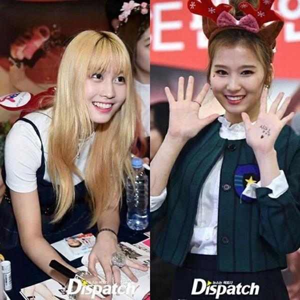 Twice đứng suốt 2 tiếng để ký tặng fan.