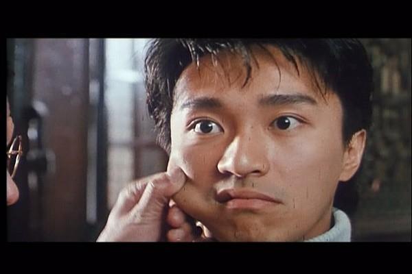 7. Gương mặt của anh chàng Tả Tung Tinh (Châu Tinh Trì) bị bệu má trong phim Tân Tinh Võ Môn 1 (1991).
