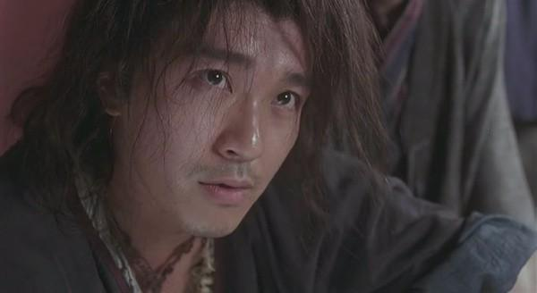 8. Một cảnh trong phim Vua ăn mày (1992) đặc tả gương mặt nhân vật Tô Xán (Châu Tinh Trì).