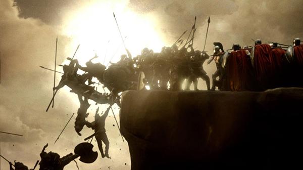 300: Trận chiến Thermopylae giữa quân Sparta của vua Leonidas và Đế chế Ba Tư