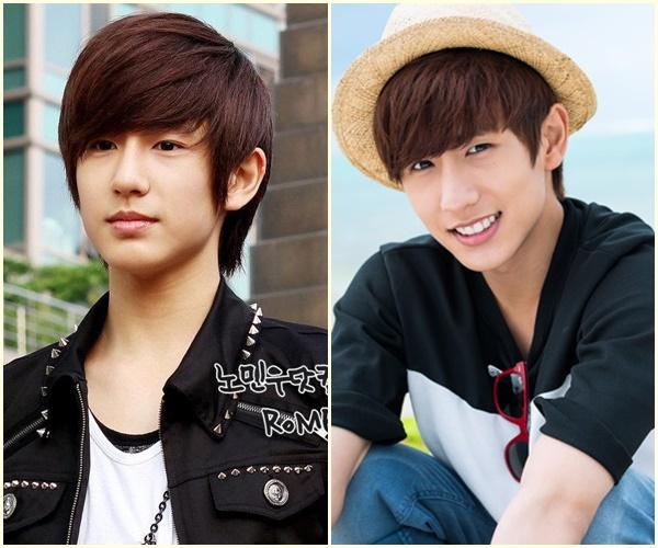 Từ một cậu bé đen nhẻm năm nào, Min Woo hiện là một mỹ nam với nước da trắng trẻo, vẻ đẹp nam tính. Thành viên Boyfriend còn trông cực cool ngầu trong vai trò cỗ máy nhảy của nhóm.