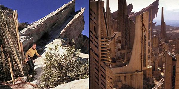 Núi đá Vasquez nằm ở California, Mỹ. Tuy không phải là địa điểm du lịch đình đám nhưng địa điểm này rất quen thuộc với các nhà làm phim. Nhiều bộ phim khoa học viễn tưởng lấy bối cảnh ở hành tinh khác đều được quay ở đây.