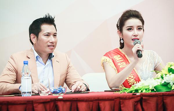 Điều đặc biệt là trước khi Huyền My trở thành đại sứ thương hiệu, hoa hậu Kỳ Duyên cũng vừa kết thúc nhiệm kỳ làm đại sứ cho kênh truyền hình này.