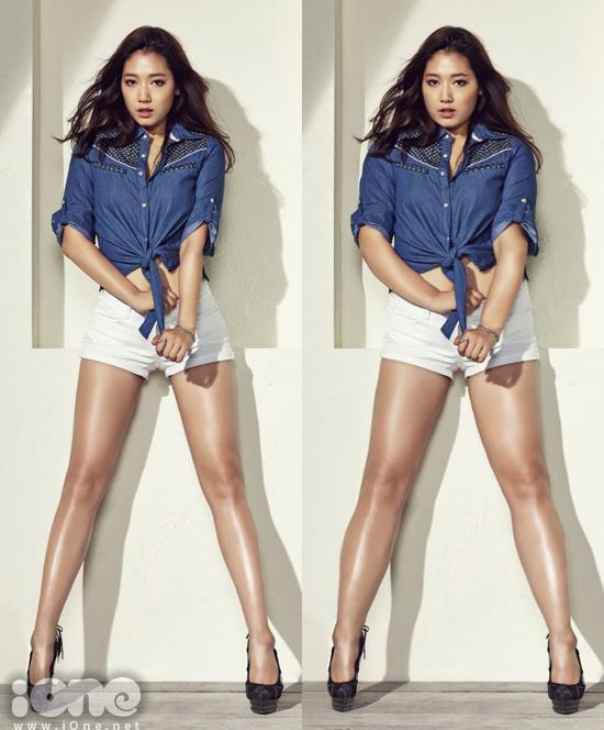 Park Shin Hye về lại phong độ béo như xưa.