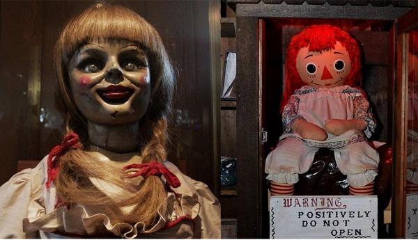 Annabelle trong phim là con búp bê được John đem tặng người vợ đang mang thai của mình là Mia. Sau sự xuất hiện của Annabelle, những sự kiện đáng sợ liên quan đến gia đình hàng xómAnnabelle Higgins