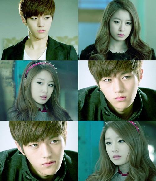 L khi kẻ mắt thì sở hữu vẻ ngoài sắc sảo, lạnh lùng. Các fan tưởng tượng rằng anh sẽ rất hợp với hình tượng tiểu thư đỏng đảnh của Ji Yeon. Nhiều người hi vọng cặp đôi có nhan sắc hàng đầu Kpop này sẽ cùng đóng chung một bộ phim.