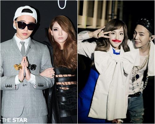 Nhiều fan của YG luôn muốn ghép cặp GD với các thành viên 2NE1 vì họ thân thiết và vẻ ngoài đều rất ăn ý.
