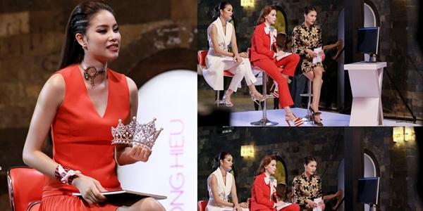 Phạm Hương bị ác cảm khi tham gia làm HLV tại The Face.