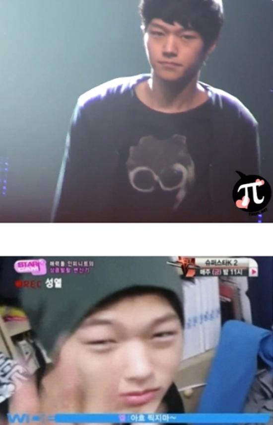L là mỹ nam hàng đầu, nam thần mặt mộc của Kpop, được sánh ngang với các visual đình đám nhà SM. Tuy nhiên, gương mặt phờ phạc, sưng húp vào buổi sớm của thành viên Infinite khiến các fan ngã ngửa.