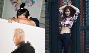 Sao Hàn 27/8: Yuri khoe eo thon đáng ghen tỵ, G-Dragon cột tóc dựng ngược
