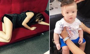 Sao Việt 31/8: MLee suýt hớ hênh, con trai Elly Trần cạo đầu cực chất