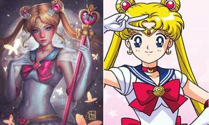 Công chúa Disney, Thủy thủ mặt trăng khi đổi phong cách gợi cảm