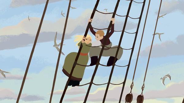 Lấy bối cảnh Saint Petersburg năm 1892, Sasha, một cô gái quý tộc trẻ người Nga, bị cuốn hút bởi cuộc sống của ông nội mình là một nhà thám hiểm. Cô gái trẻ quyết định từ bỏ cuộc sống thượng lưu để dấn thân vào hành trình đến Bắc Cực để tìm ông nội và con tàu mất tích của ông.