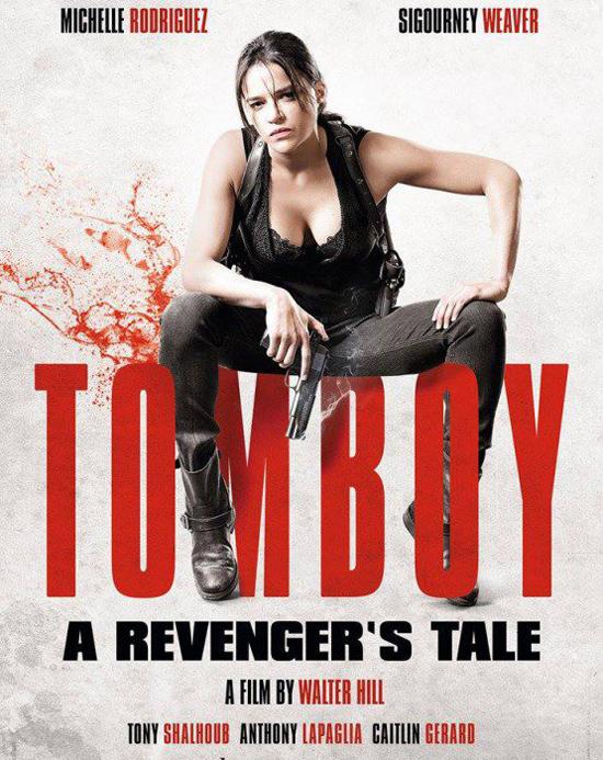 Michelle Rodriguez trên poster phim mới