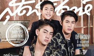 Gia đình toàn người đẹp gây sốt mạng Thái Lan