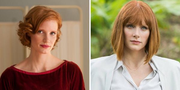 Những người đẹp tóc đỏ thường có ngoại hình khá giống nhau, điều này đúng hơn bao giờ hết vớiJessica Chastain and Bryce Dallas Howard