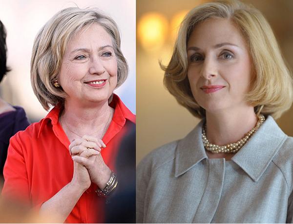 Nữ diễn viên tiết lộ cô từng bị ám ảnh khi chuẩn bị cho vai diễn bằng cách nghe những cuốn băng về giọng các bài nói chuyện của bà Clinton qua các năm, từ đó chú ý phát âm và chất giọng của bà qua mỗi thời kỳ.