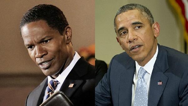 Trong bộ phim khoa học viễn tưởngWhite House Down/Nhà Trắng thất thủ(2013), nam diễn viên da màu từng đoạt giảiOscarJamie Foxx đã thể hiện một cách thành công ông chủ Nhà Trắng trong tương lai, vị tổng thống thứ 46 của nước Mỹ - James Sawyer.