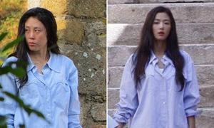 'Nhan sắc' gây giật mình của diễn viên đóng thế Jun Ji Hyun - Lee Min Ho