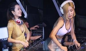 DJ Soda, Trang Moon đọ vẻ nóng bỏng