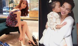 Sao Việt 26/9: Ngọc Trinh 'chọn đàn ông như chọn giày', Hà Hồ khoe 'con dâu'